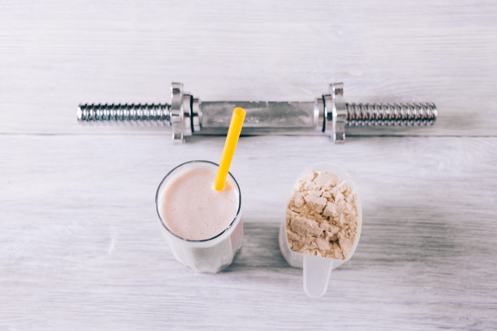 whey protein vs. collagen protein